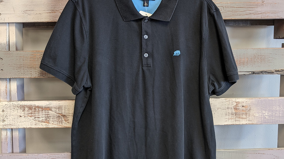 Mens Banana Republic polo shirt (size: xl)