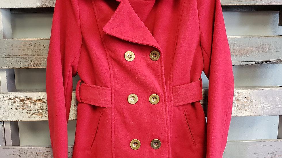 Inspired Hearts Pea Coat size M