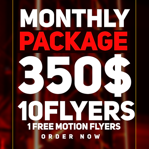 EXCLUSIVE MONTHLY PACK