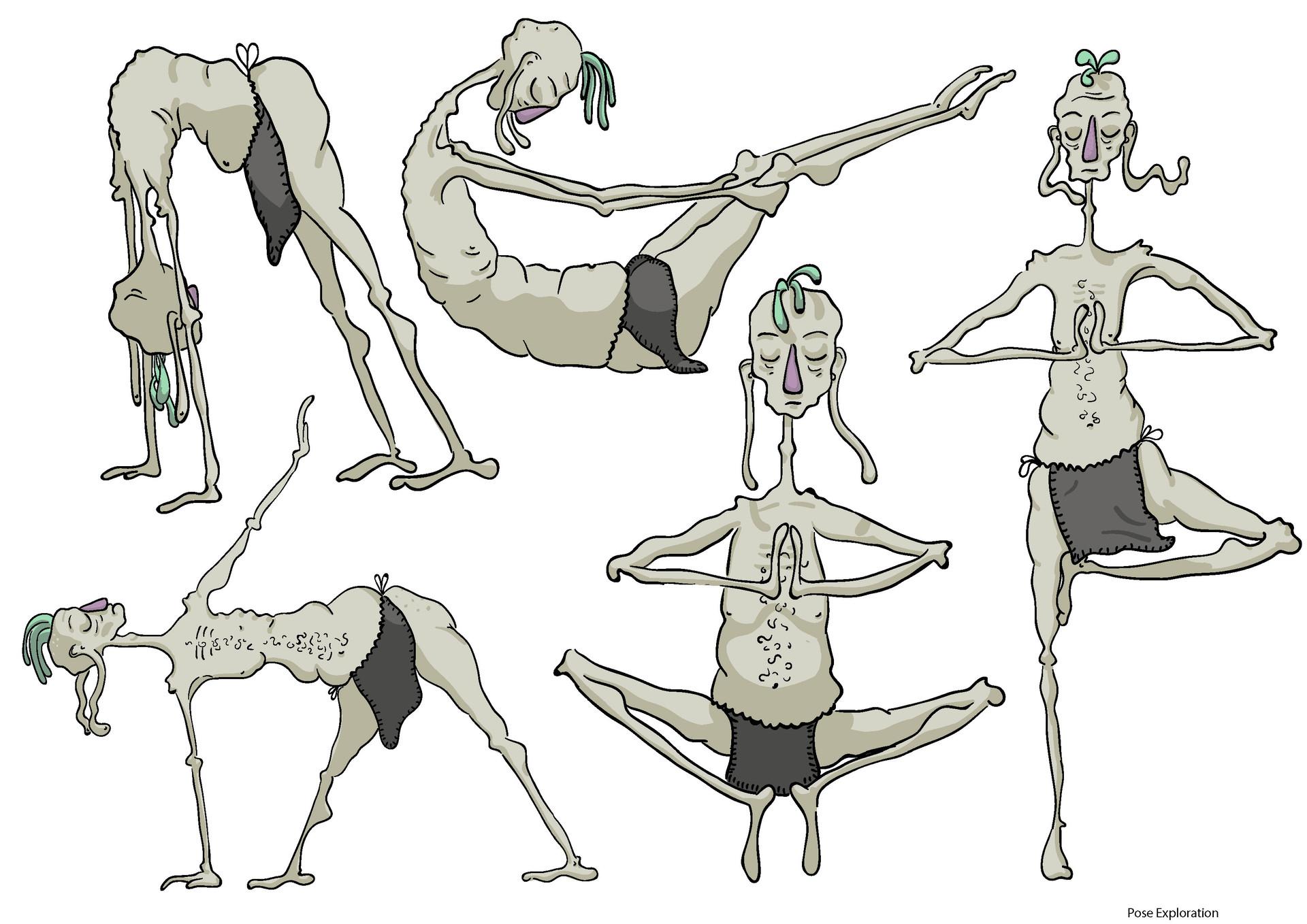 Model Sheet - Poses