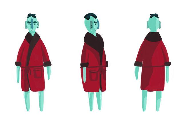 Montgoomery Character Design