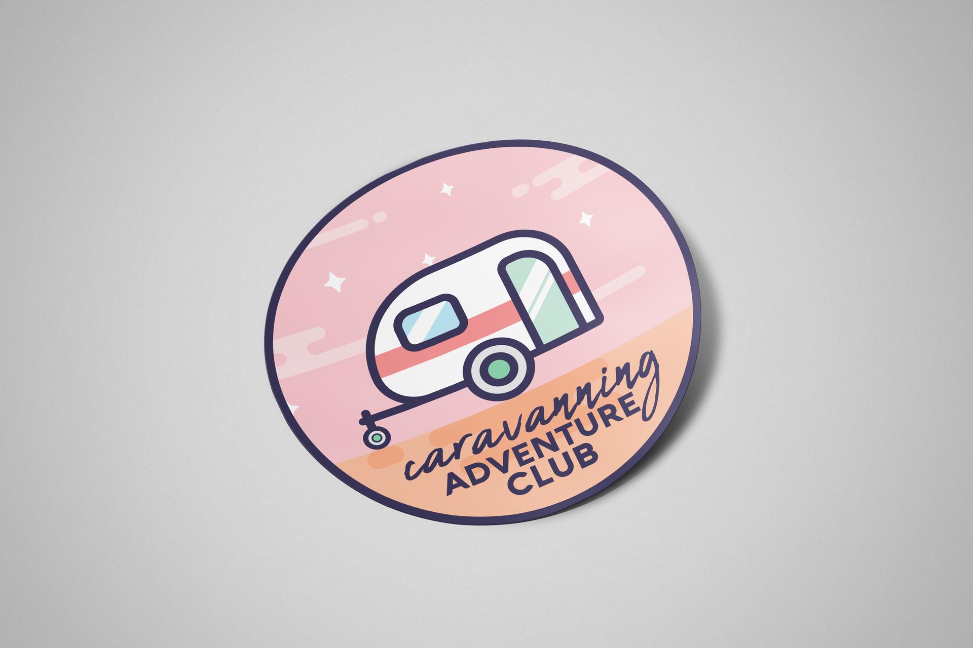 Caravan Sticker