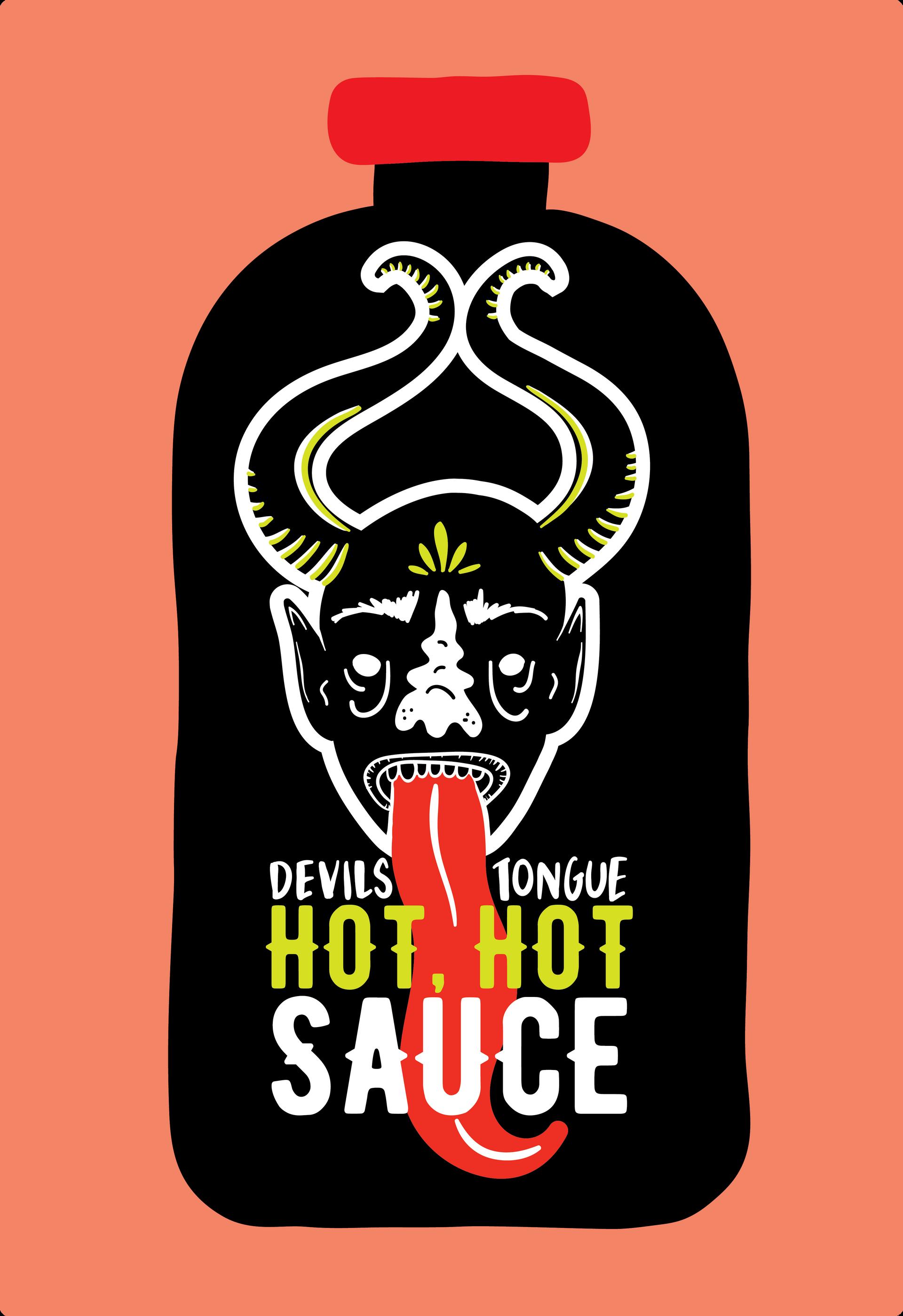 Hot Sauce Bottle Design