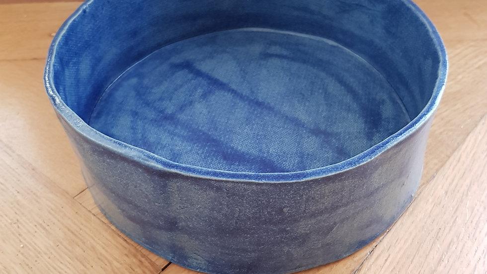 Wasser- / Futterschüssel in blau