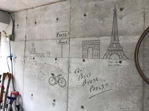 個人宅_ガレージ壁画