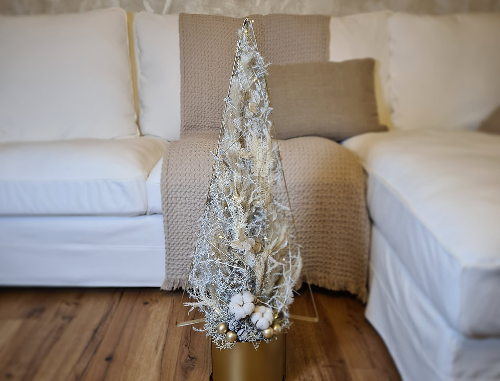 Boho Baum Gold  groß