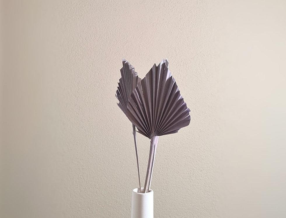 Palmblatt Speer, lila , spitz