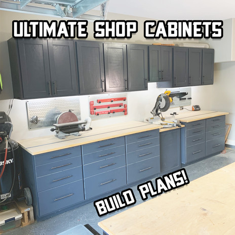 Ultimate Shop Cabinets