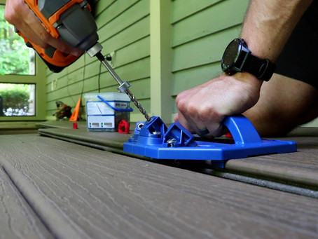Replacing Old Wood Deck with Composite Boards!