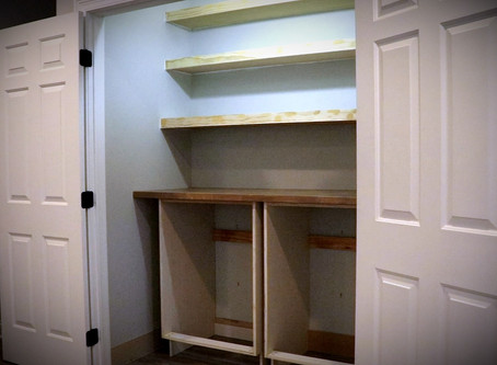 DIY Pantry Makeover - Part 1