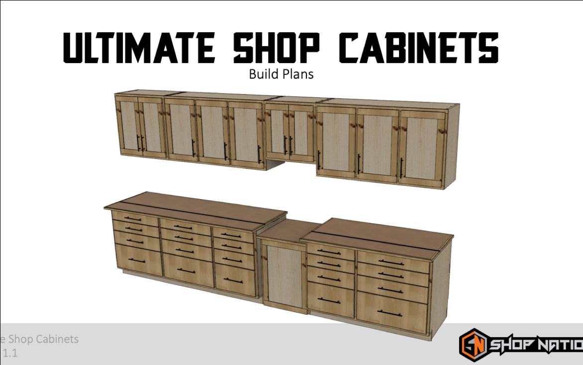 Shop Cabinets Plans