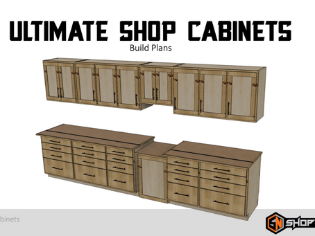 Ultimate Cabinet Plans are HERE!