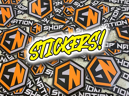 Shop Nation Stickers