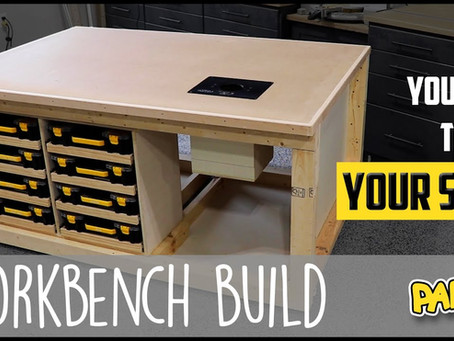 Versatile Workbench Build - Part 2