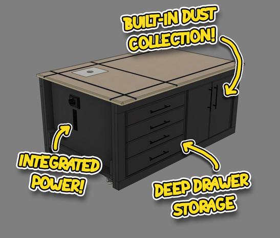 Versatile Workbench Features