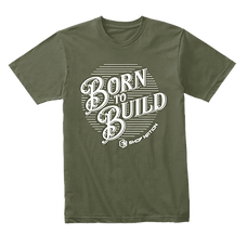 Shop Nation Born To Build T-Shirt