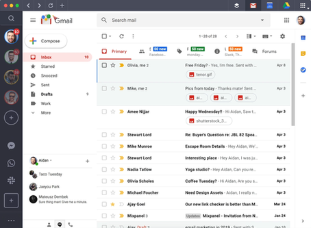 Too many email accounts? Try Shift