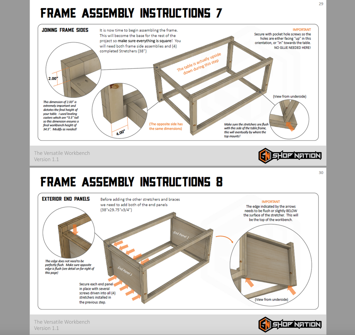 Plans Assembly Example