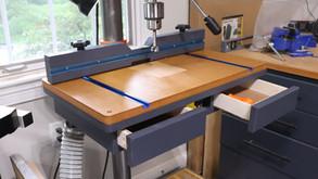 The Drill Press Table Build