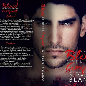 Cover Reveal & Giveaway | Blood Drenched Conquest (Ryze #3)