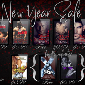 New Year's Sale + Giftcard Giveaways!
