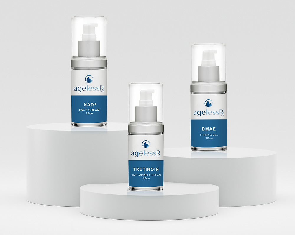 Getting Started with ARX Skincare: DMAE, Tretinoin, and NAD+ Cream