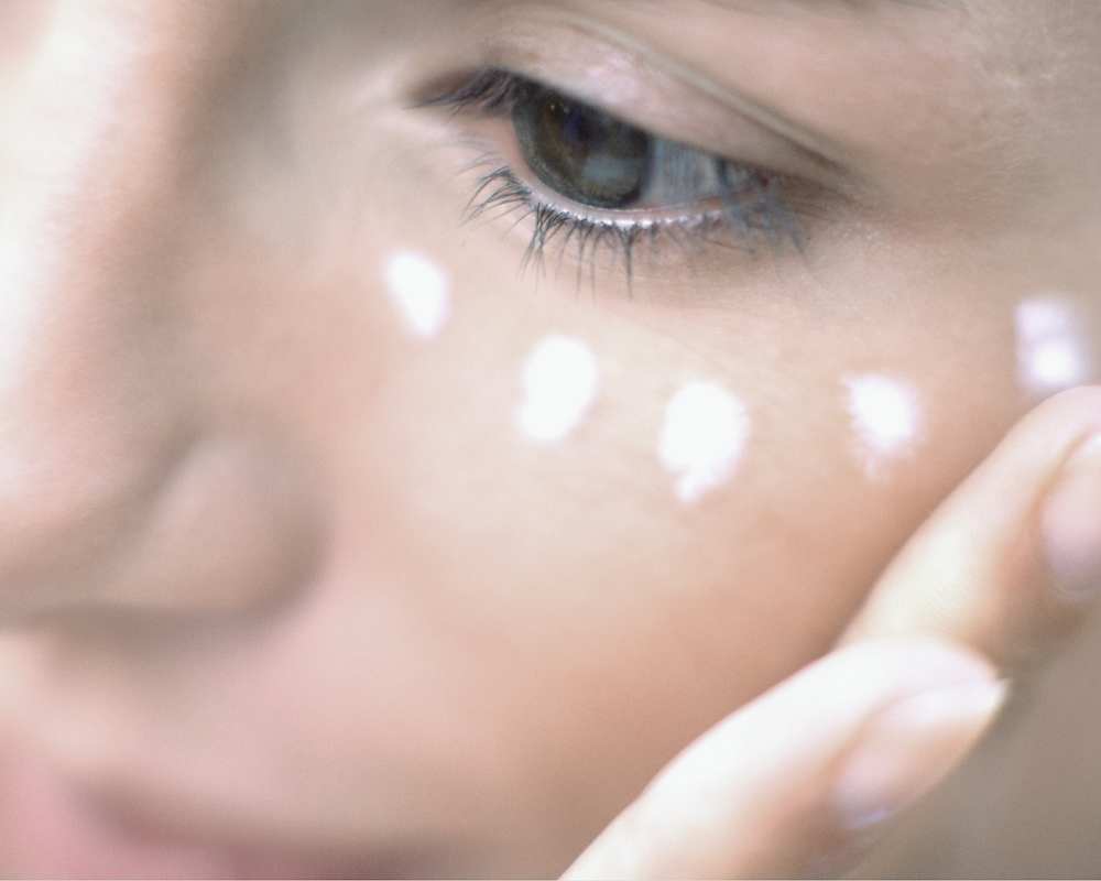 The soft skin around your eyes is some of the thinnest on your body.