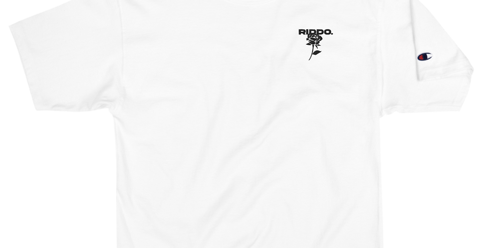WHITE COMBI-LOGO T-SHIRT