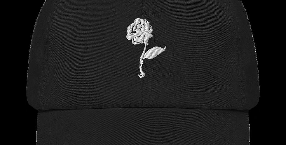 WHITE ROSE CAP