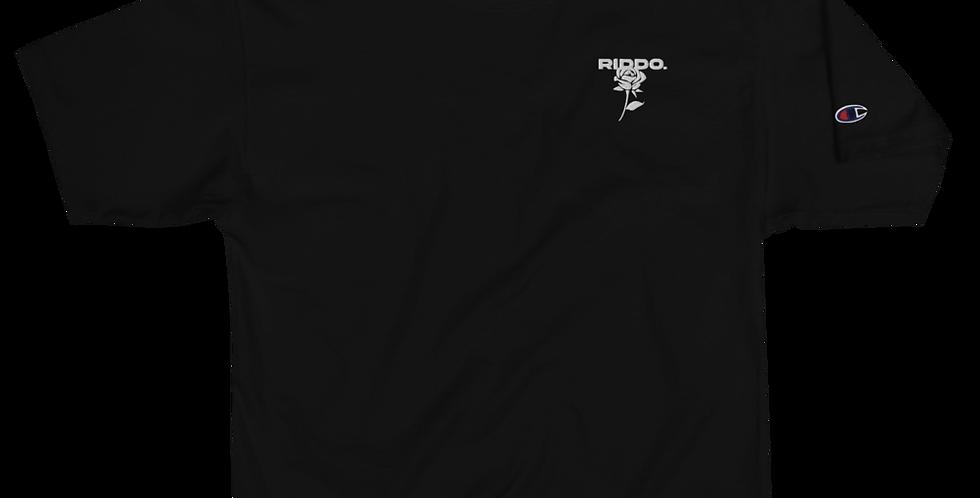 BLACK COMBI-LOGO T-SHIRT