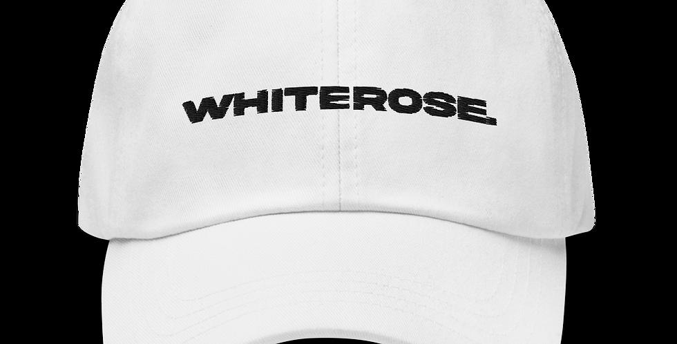WHITE WHITEROSE. HAT