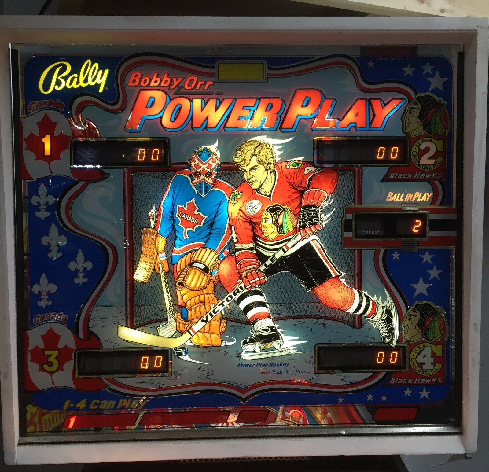 power play backbox
