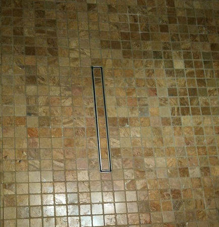 Bespoke mosaic tiling