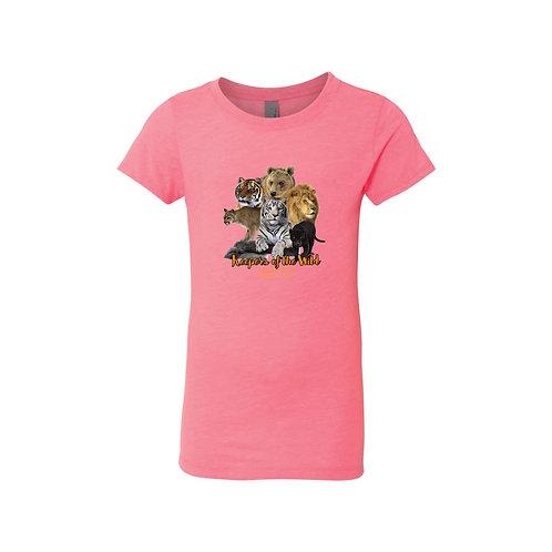 Girl's Pink Logo Tee