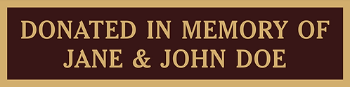 Park Bench Sponsorships