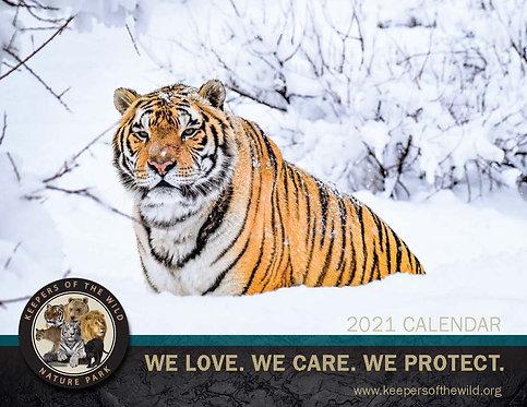 KOTW 2021 LARGE Wall Calendar
