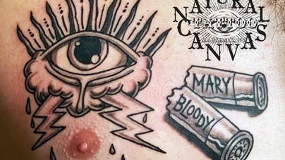Dave Natural Canvas Tattoo Eye & Shells.png