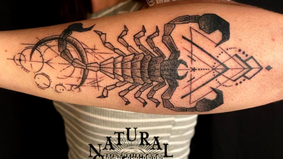 Dave Natural Canvas Tattoo Scorpion.png