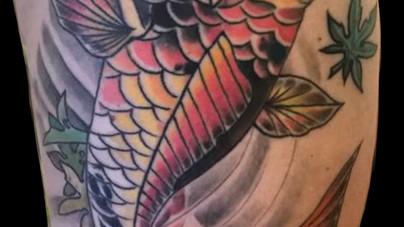 Camille Natural Canvas Tattoo Koi.jpg