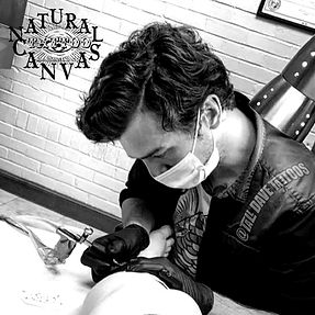 Dave Camille Natural Canvas Tattooer