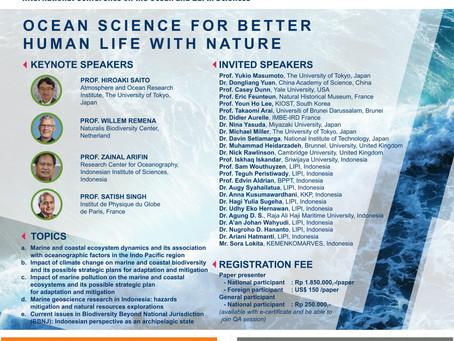 Prof. Arifin and Prof. Saito gave key note talks at ICOES, Indonesia Science Expo 2020