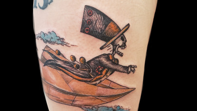 Camille Natural Canvas Tattoo Skeleton Plane.jpg