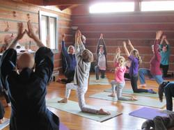 yoga at Great Tree Zen