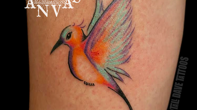 Dave Natural Canvas Tattoo Hummingbird.png