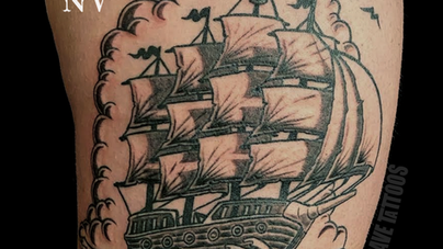 Dave Natural Canvas Tattoo Pirate Ship.png