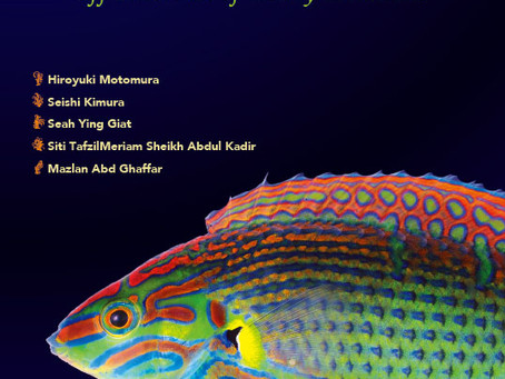 """New book is released!   """"Reef and Shore Fishes of Bidong Island off east coast of Malay Peninsula"""""""