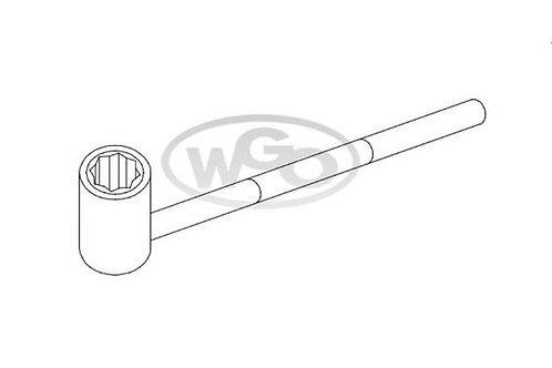 Chave cachimbo oitavada p/ parafuso 6mm (Cod. 1613)