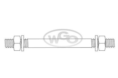 Barra de impulso com porcas 125mm p/ A-15 e A-25 (Cod. 1712)
