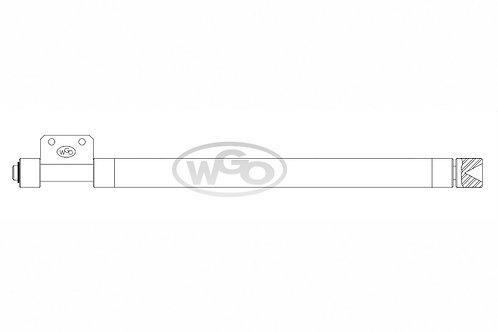 Empurrador de material 25,4mm p/ A-25 (cód. 1025)