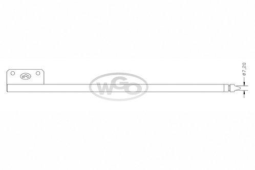 Empurrador mat. especial Ø10mm p/ tubo c/ furo Ø7,30mm | A-15 e A-25 (cod. 1018)